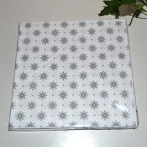 Servett - silverstjärnor
